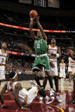 Boston Celtics v Cleveland Cavaliers: Marquis Daniels and Daniel Gibson Photographic Print by David Liam Kyle