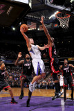 Miami Heat v Sacramento Kings: Beno Udrih Photographic Print by Rocky Widner