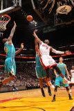 New Orleans Hornets v Miami Heat: Dwyane Wade Photographic Print by Victor Baldizon