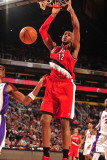 Portland Trail Blazers v Phoenix Suns: LaMarcus Aldridge Photographic Print by Barry Gossage