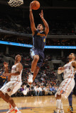 Denver Nuggets v Charlotte Bobcats: Arron Afflalo Photographic Print by Brock Williams Smith
