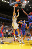Detroit Pistons v Golden State Warriors: Vladimir Radmanovic Photographic Print by Rocky Widner