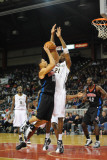 Springfield Armor v Erie BayHawks: Jarvis Gunter and Scottie Reynolds Photographic Print by Robert Frank