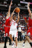 Chicago Bulls v Houston Rockets: Kevin Martin and Kyle Korver Photographic Print by Bill Baptist
