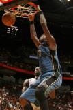 Washington Wizards v Miami Heat: Andray Blatche Photographic Print by Issac Baldizon