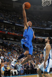 Dallas Mavericks v New Orleans Hornets: Shawn Marion and Peja Stojakovic Fotografisk tryk af Layne Murdoch