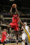 Los Angeles Clippers v Indiana Pacers: Al-Faroug Aminu and T. J. Ford Photographic Print by Ron Hoskins