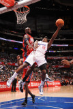 New Jersey Nets v Los Angeles Clippers: Eric Bledsoe and Travis Outlaw Photographic Print by Noah Graham