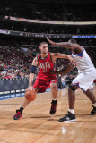 New Jersey Nets v Philadelphia 76ers: Brook Lopez Photographic Print by David Dow