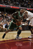 Boston Celtics v Cleveland Cavaliers: Glen Davis and Antawn Jamison Photographic Print by David Liam Kyle