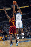 Cleveland Cavaliers v New Orleans Hornets: Willie Green and Ramon Sessions Photographic Print by Layne Murdoch