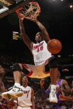 Phoenix Suns v Miami Heat: Udonis Haslem Photographic Print by Victor Baldizon