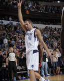 Miami Heat v Dallas Mavericks: Dirk Nowitzki Photographic Print by Glenn James
