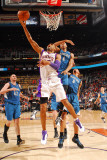 Minnesota Timberwolves v Phoenix Suns: Grant Hill and Wesley Johnson Photographic Print by Barry Gossage