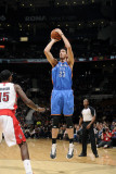 Oklahoma City Thunder v Toronto Raptors: Byron Mullens and Amir Johnson Photographic Print by Ron Turenne