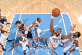 Memphis Grizzlies v Denver Nuggets: Shelden Williams Photographic Print by Garrett Ellwood