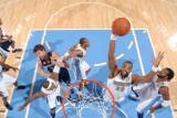 Memphis Grizzlies v Denver Nuggets: Shelden Williams Photographic Print by Garrett Ellwood