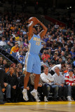 Denver Nuggets v Golden State Warriors: Anthony Carter Photographic Print by Rocky Widner