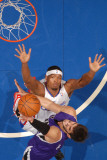 Sacramento Kings v Los Angeles Clippers: Omri Casspi and Ryan Gomes Photographic Print by Noah Graham