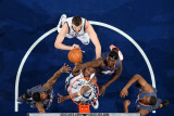 Charlotte Bobcats v Memphis Grizzlies: Darrell Arthur, Marc Gasol, Tyrus Thomas and Kwame Brown Photographic Print by Joe Murphy