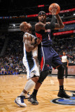 Atlanta Hawks v Orlando Magic: Josh Smith and Quentin Richardson Photographic Print by Fernando Medina