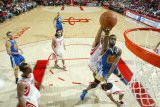 Golden State Warriors v Houston Rockets: Dorell Wright Photographic Print by Bill Baptist