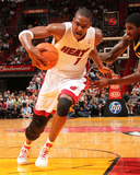 Indiana Pacers v Miami Heat: Chris Bosh Photographic Print by Victor Baldizon