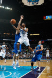 Dallas Mavericks v New Orleans Hornets: Willie Green and Dirk Nowitzki Photographic Print by Chris Graythen