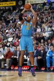 New Orleans Hornets v Dallas Mavericks: David West Photographic Print by Layne Murdoch
