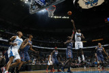 Charlotte Bobcats v New Orleans Hornets: Emeka Okafor and Nazr Mohammed Photographic Print by Layne Murdoch