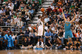 New Orleans Hornets v Utah Jazz: Paul Millsap and Jason Smith Photographic Print by Melissa Majchrzak