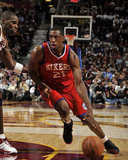 Philadelphia 76ers v Cleveland Cavaliers: Thaddeus Young and Antawn Jamison Photographie par David Liam Kyle