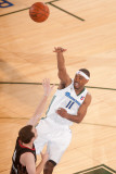 Utah Flash v Reno Bighorns: Aaron Miles and Kevin Kruger Photographic Print by David Calvert