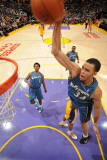 Washington Wizards v Los Angeles Lakers: JaVale McGee Photographic Print by Andrew Bernstein