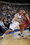 New Jersey Nets v Dallas Mavericks: Jose Juan Barea and Jordan Farmar Photographic Print by Danny Bollinger