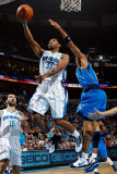 Dallas Mavericks v New Orleans Hornets: Willie Green and Shawn Marion Photographic Print by Chris Graythen