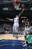 Boston Celtics v Atlanta Hawks: Josh Smith Photographic Print by Scott Cunningham