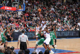 Boston Celtics v Philadelphia 76ers: Jrue Holiday Photographic Print by Jesse D. Garrabrant