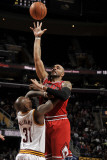 Chicago Bulls v Cleveland Cavaliers: Carlos Boozer and Jawad Williams Photographic Print by David Liam Kyle