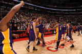 Los Angeles Lakers v Los Angeles Clippers: Derek Fisher Photographic Print by Noah Graham