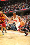 Miami Heat v Cleveland Cavaliers: Ramon Sessions and Mario Chalmers Photographic Print by Nathaniel S. Butler