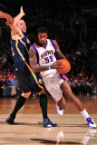 Indiana Pacers v Phoenix Suns: Earl Clark and Josh McRoberts Photographic Print by P.A. Molumby