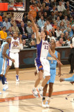 Denver Nuggets v Phoenix Suns: Steve Nash Photographic Print by Barry Gossage