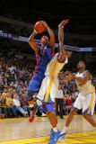 Detroit Pistons v Golden State Warriors: Charlie Villanueva Photographic Print by Rocky Widner