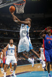 Detroit Pistons v New Orleans Hornets: Emeka Okafor Photographic Print by Layne Murdoch