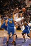 Golden State Warriors v Los Angeles Lakers: Kobe Bryant Photographic Print by Noah Graham