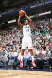 Indiana Pacers v Utah Jazz: Raja Bell Photographic Print by Melissa Majchrzak