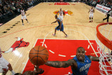 Orlando Magic v Chicago Bulls: Quentin Richardson Photographie par Gary Dineen