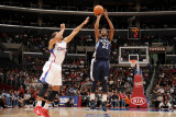 Memphis Grizzlies v Los Angeles Clippers: O.J. Mayo and Eric Gordon Photographic Print by Noah Graham