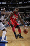 New Jersey Nets v Dallas Mavericks: Terrance Williams and Jason Terry Photographic Print by Glenn James